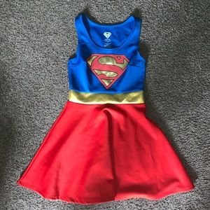 Hot Topic Superman Pull On Skater Dress